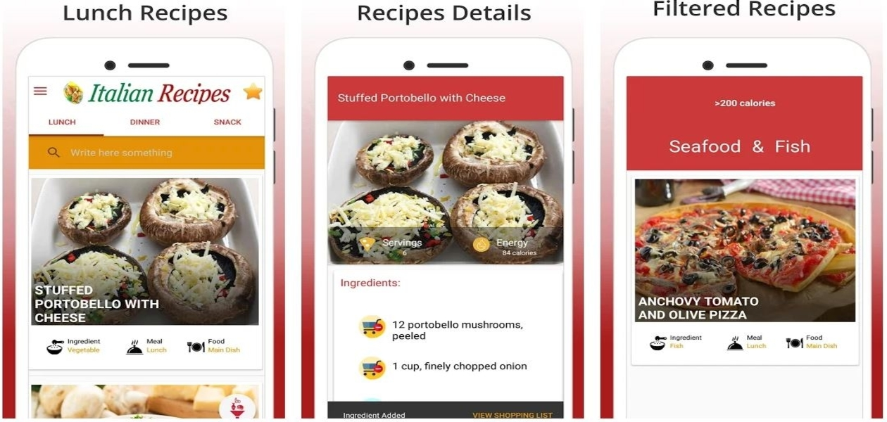 Italian Recipes - Best Italian Food Recipes