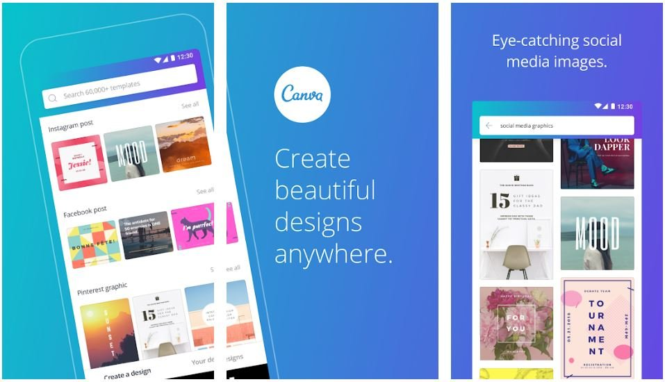 Metro Blog Canva App