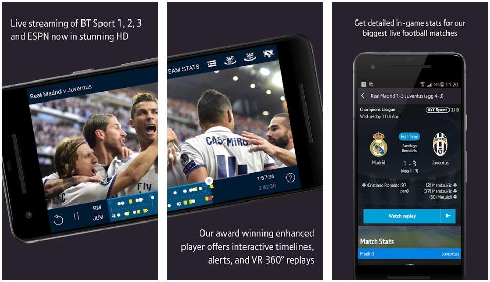 Metro blog BT Sports App
