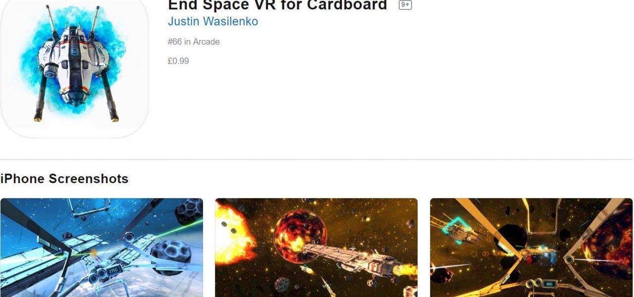 Metro blog Endspace VR App