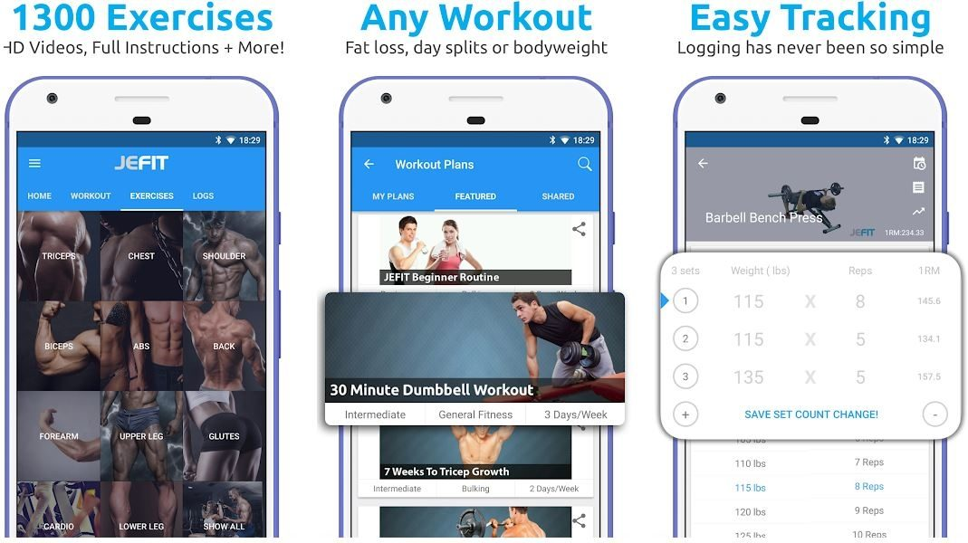 Metro blog JEFIT Workout Tracker