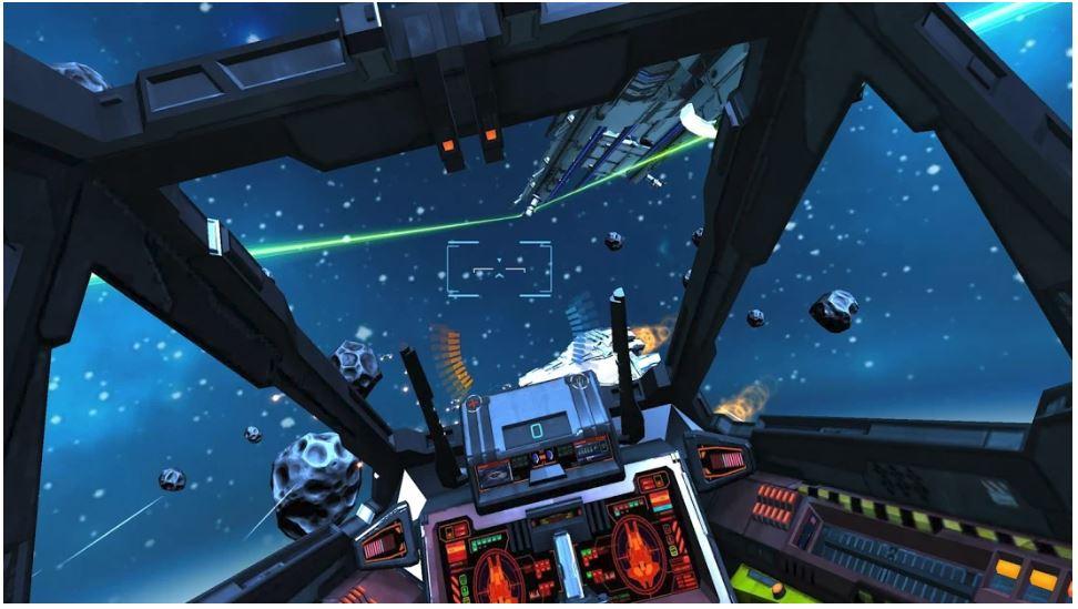 Metro blog Minos Starfighter VR App