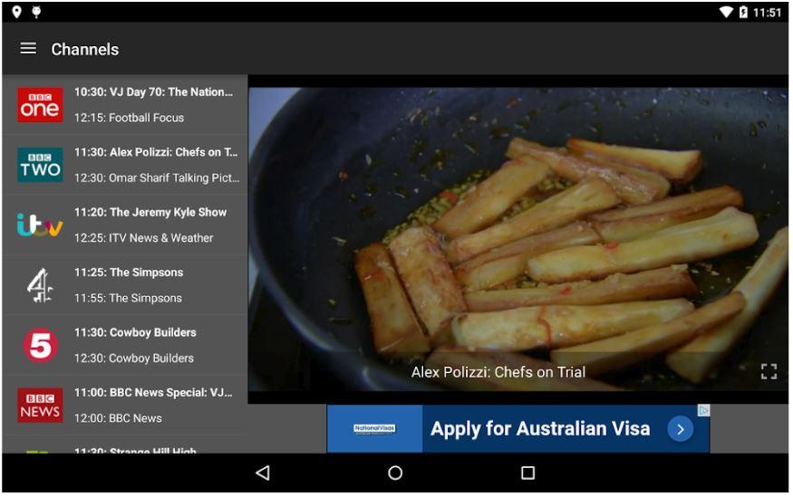 Metro-blog-TV-Catchup-App