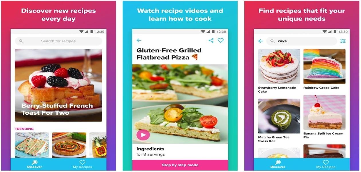 Tasty Cooking App