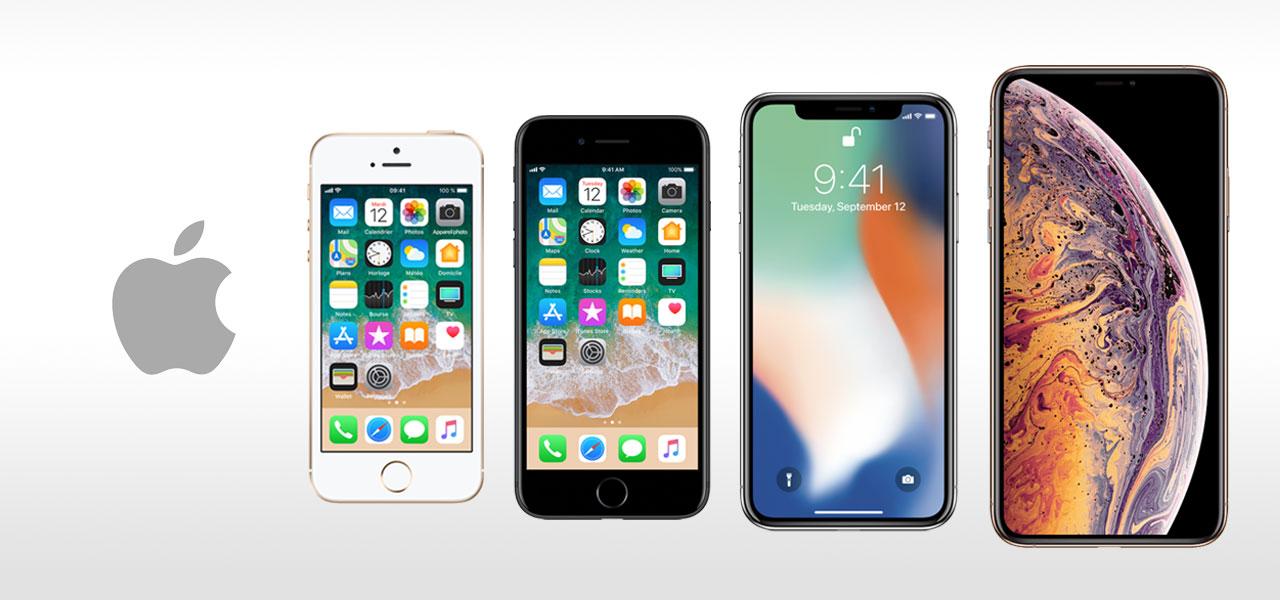 apple phones generation