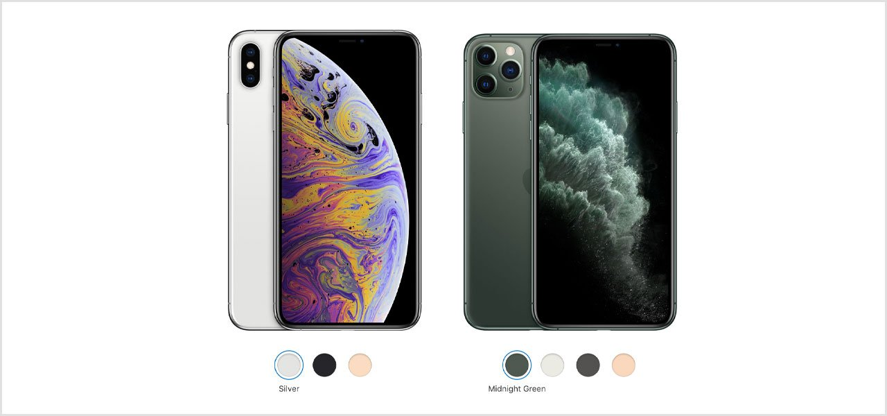 iPhone 11 Pro Max and iPhone XS Max Compared