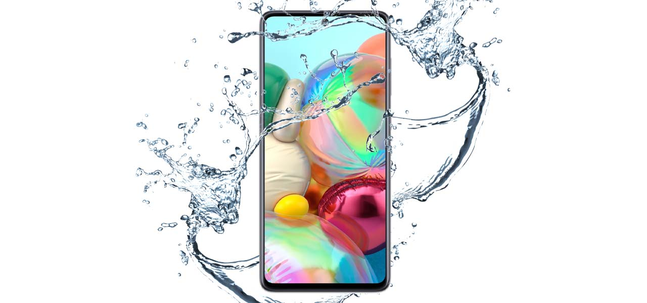 is-the-samsung-a71-waterproof