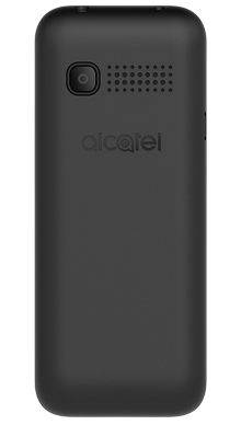 Alcatel 1066 Black Back