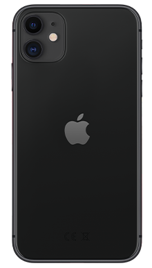 Apple iPhone 11 64GB Black Back