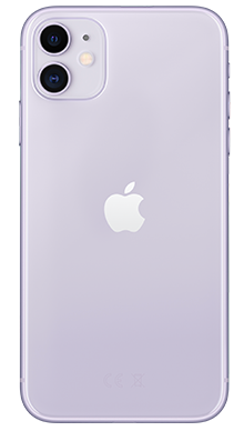 Apple iPhone 11 64GB Purple Back