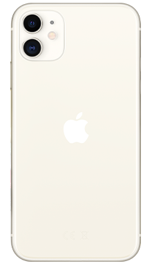Apple iPhone 11 64GB White Back