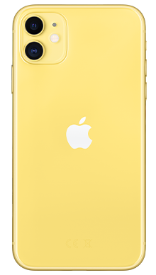 Apple iPhone 11 256GB Yellow Back