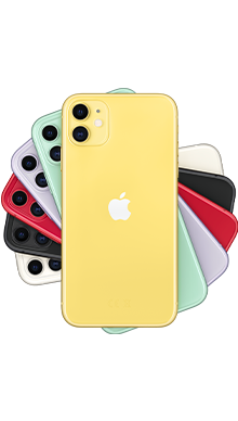 Apple iPhone 11 128GB Yellow Side