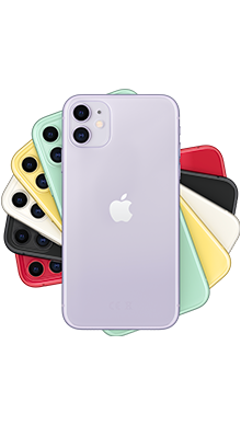 Apple iPhone 11 64GB Purple Side