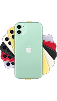 Apple iPhone 11 64GB Green Side