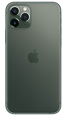 Apple iPhone 11 Pro Max 512GB Midnight Green Back