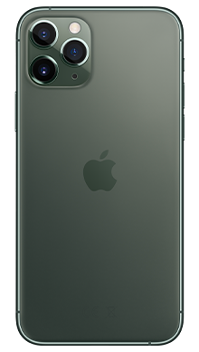 Apple iPhone 11 Pro 64GB Midnight Green Back