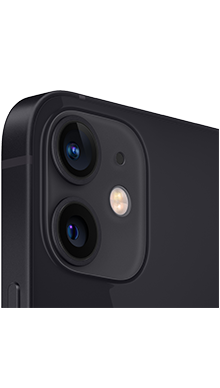 iPhone 12 mini 5G 64GB Black Back