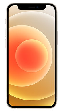 iPhone 12 mini 5G 64GB White Front