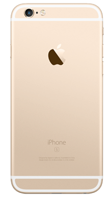 Apple iPhone 6s 32GB Gold Back