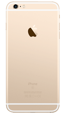 Apple iPhone 6s Plus 128GB Gold Back
