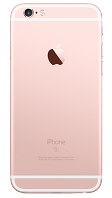 Apple iPhone 6s Plus 32GB Rose Gold Back