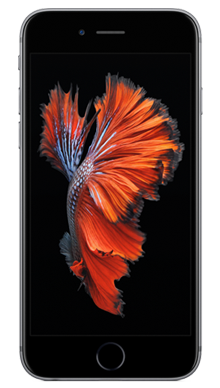 Apple iPhone 6s 128GB Space Grey Front
