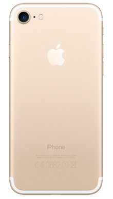 Apple iPhone 7 32GB Gold Back