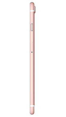 Apple iPhone 7 Plus 128GB Rose Gold Side