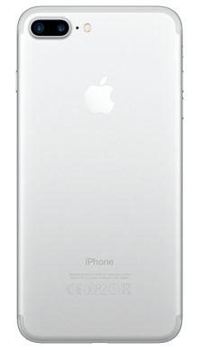 Apple iPhone 7 Plus 32GB Silver Back