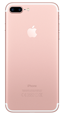 Apple iPhone 7 Plus 128GB Rose Gold Back