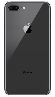 Apple iPhone 8 Plus 256GB Space Grey Back