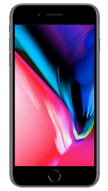 Apple iPhone 8 Plus 256GB Space Grey Front