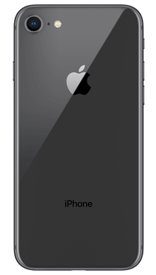 Apple iPhone 8 64GB Space Grey Back