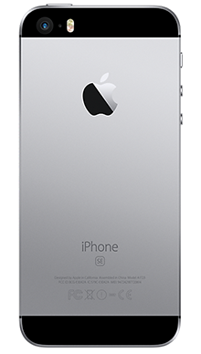 Apple iPhone SE 32GB Space Grey Back