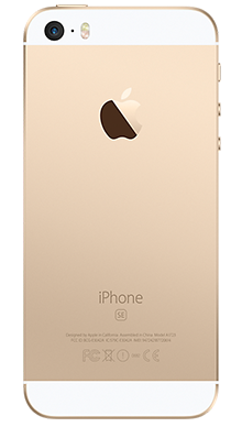 Apple iPhone SE 32GB Gold Back