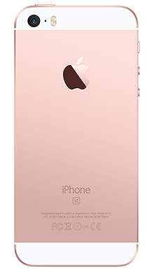Apple iPhone SE 32GB Rose Gold Back