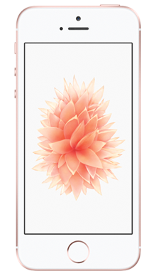 Apple iPhone SE 32GB Rose Gold Front
