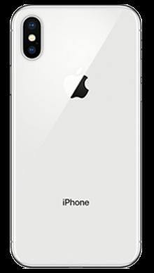 Apple iPhone X 256GB Silver Back