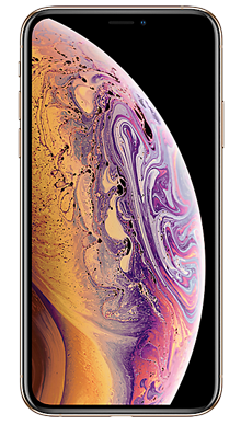 Apple iPhone Xs 64GB Gold Front