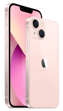 iPhone 13 5G 128GB Pink Front