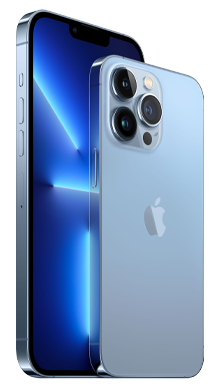 iPhone 13 Pro Max 5G 128GB Sierra Blue Front