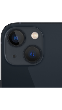 iPhone 13 5G 128GB Midnight Back
