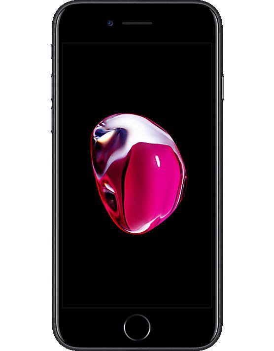 Apple iPhone 7 128GB Black Refurb Front
