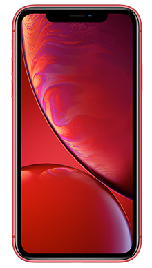 Apple iPhone Xr 64GB Red Front