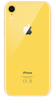 Apple iPhone Xr 64GB Yellow Back