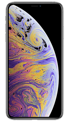 Apple iPhone Xs Max 64GB Silver Front