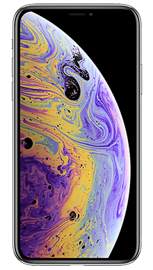 Apple iPhone Xs 256GB Silver Front