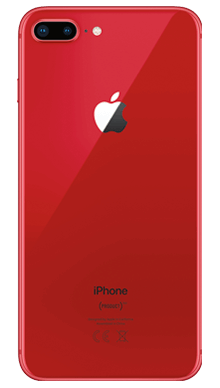 Apple iPhone 8 Plus 64GB Red Back