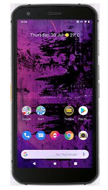 CAT S62 Pro 128GB Black Front
